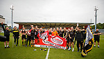 20.05.2018 Partick Thistle v Livingston: Livingston celebrate as they gain promotion