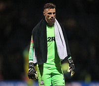 Preston North End's Declan Rudd looks dejected as the game ends<br /> <br /> Photographer Mick Walker/CameraSport<br /> <br /> The EFL Sky Bet Championship - Preston North End v West Bromwich Albion - Monday 2nd December 2019 - Deepdale Stadium - Preston<br /> <br /> World Copyright © 2019 CameraSport. All rights reserved. 43 Linden Ave. Countesthorpe. Leicester. England. LE8 5PG - Tel: +44 (0) 116 277 4147 - admin@camerasport.com - www.camerasport.com