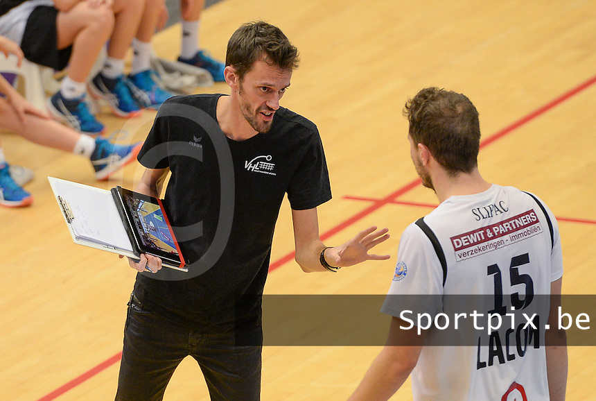 Volley Haasrode Leuven : coach Kris Eyckmans<br /> Foto DAVID CATRY | VDB | Bart Vandenbroucke