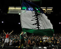 Portland Timbers vs Chivas USA during the MLS competition at Jeld-Wen Field, Portland Oregon, August 24, 2011.  The Portland Timbers defeated Chivas USA 1-0.
