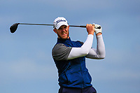 Peter O'Keeffe (Douglas) on the 9th tee during Round 2 of The East of Ireland Amateur Open Championship in Co. Louth Golf Club, Baltray on Sunday 2nd June 2019.<br /> <br /> Picture:  Thos Caffrey / www.golffile.ie<br /> <br /> All photos usage must carry mandatory copyright credit (© Golffile   Thos Caffrey)