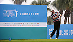 TAIPEI, TAIWAN - NOVEMBER 18:  Doug Young of England tees off on the 10th hole during day one of the Fubon Senior Open at Miramar Golf & Country Club on November 18, 2011 in Taipei, Taiwan.  Photo by Victor Fraile / The Power of Sport Images