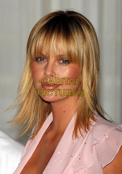 "CHARLIZE THERON.""The Italian Job"" photocall.Claridges Hotel.portrait headshot, fringe.sales@capitalpictures.com.www.capitalpictures.com.©Capital Pictures"