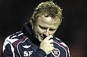 02/01/2008    Copyright Pic: James Stewart.File Name : sct_jspa26_dundee_utd_v_hearts.STEVIE FRAIL AT THE END OF THE GAME WHERE HIS SIDE WENT DOWN 4-1 TO DUNDEE UTD.James Stewart Photo Agency 19 Carronlea Drive, Falkirk. FK2 8DN      Vat Reg No. 607 6932 25.Office     : +44 (0)1324 570906     .Mobile   : +44 (0)7721 416997.Fax         : +44 (0)1324 570906.E-mail  :  jim@jspa.co.uk.If you require further information then contact Jim Stewart on any of the numbers above.........