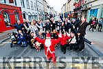 Castle Street Traders getting in the Christmas sprit on Tuesday in Tralee.