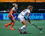 Den Bosch  -  Barbara Nelen (Belgie)    tijdens  de Pro League hockeywedstrijd dames, Nederland-Belgie (2-0).    COPYRIGHT KOEN SUYK