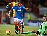Daniel Candeias beats keeper Ryan Scully and must score...?
