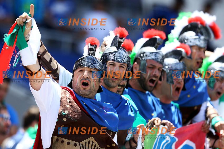 Tifosi Italia Fans Italy <br /> Toulouse 17-06-2016 Stade de Toulouse <br /> Football Euro2016 Italy - Sweden / Italia - Svezia Group Stage Group E<br /> Foto Matteo Ciambelli / Insidefoto
