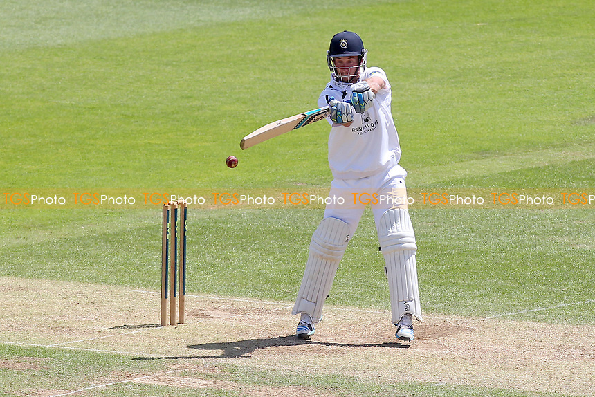 Will Smith in batting action for Hampshire - Hampshire CCC vs Essex CCC - LV County Championship Division Two Cricket at the Ageas Bowl, West End, Southampton - 17/06/14 - MANDATORY CREDIT: Gavin Ellis/TGSPHOTO - Self billing applies where appropriate - 0845 094 6026 - contact@tgsphoto.co.uk - NO UNPAID USE