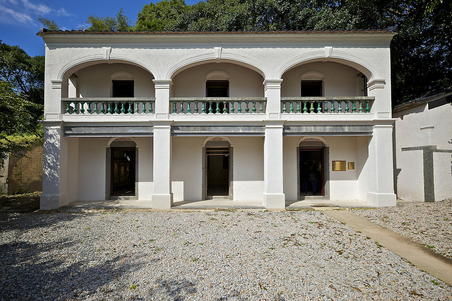 Residence of Ip Ting Sz in Lin Ma Hang Tsuen, Shau Tau Kok.