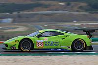 #83 KROHN RACING (USA) FERRARI F488 GTE GTE TRACY KROHN (USA) NICLAS JONSSON (SWE) ANDREA BERTOLINI (ITA)