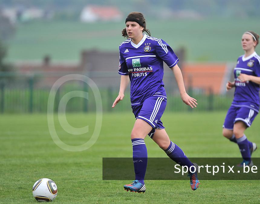 RSC Anderlecht Dames - FC Twente : Laura De Neve.foto DAVID CATRY / Nikonpro.be