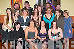 21ST: Nikki Lewis of Killorglin (seated third from left) at her 21st birthday party in The Manor Inn Hotel, Killorglin, on Saturday evening, along with family and friends..