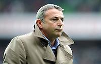 FUSSBALL   1. BUNDESLIGA   SAISON 2011/2012   32. SPIELTAG SV Werder Bremen - FC Bayern Muenchen               21.04.2012 Manager Klaus Allofs (SV Werder Bremen)