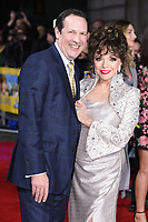 Dame Joan Collins and husband Percy<br /> arrives for the premiere of &quot;The Time of Their Lives&quot; at the Curzon Mayfair, London.<br /> <br /> <br /> &copy;Ash Knotek  D3239  08/03/2017