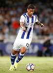 Real Sociedad's William Jose during La Liga match. August 21,2016. (ALTERPHOTOS/Acero)