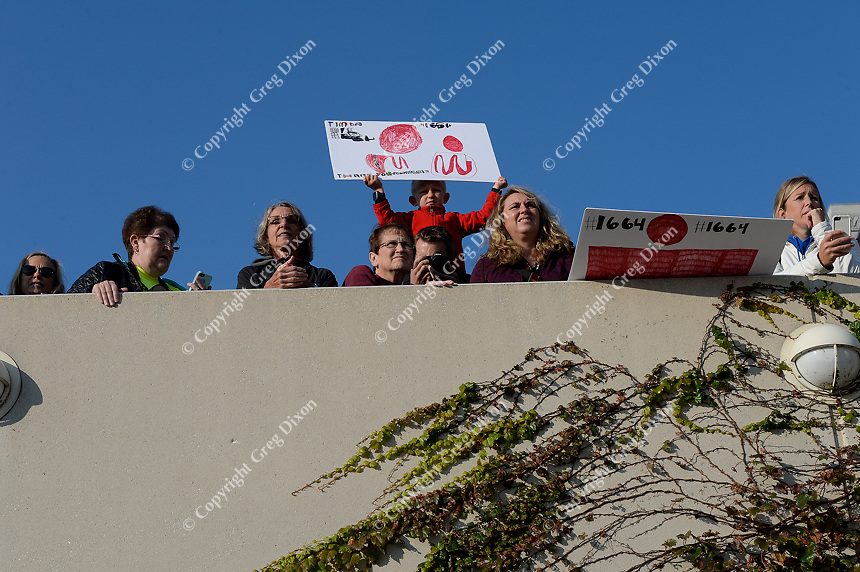 Fans of all ages cheer on the athletes during the 2017 IRONMAN Wisconsin on Sunday, September 10 in Madison