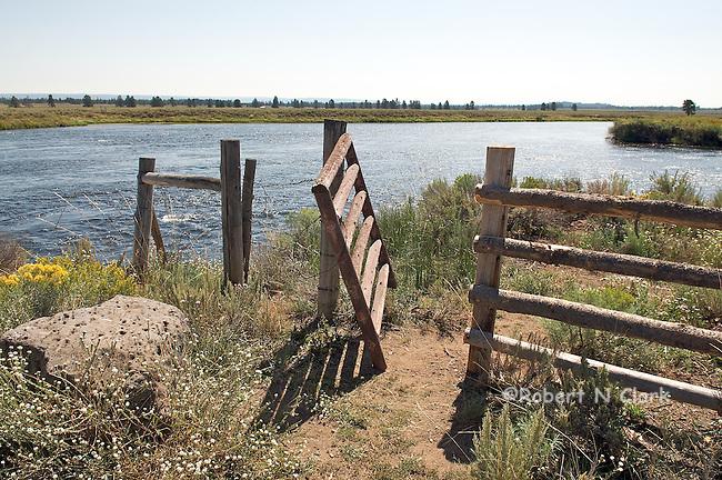 Henry's Fork at Osborn Bridge Fisherman's Access
