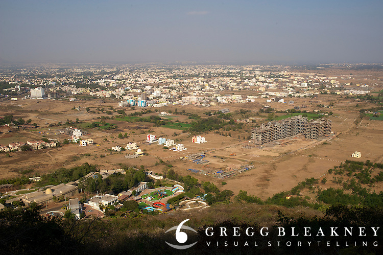 Aerial View - Nashik, India