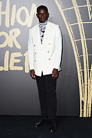 LONDON, UK. September 14, 2019: Damson Idris at the Fashion for Relief Show 2019 at the British Museum, London.<br /> Picture: Steve Vas/Featureflash