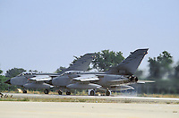 - Tornado ECR strike aircrafts of 50th Wing on the base of Piacenza S.Damiano....- aerei da attacco Tornado del 50° Stormo sulla base di Piacenza S.Damiano