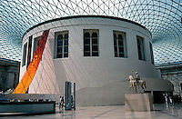 London: The British Museum--Great Court. Norman Foster, 2001.  Photo 2005.