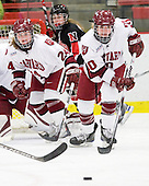 Leanna Coskren (Harvard - 24), Anna McDonald (Harvard - 10) - The Harvard University Crimson defeated the Northeastern University Huskies 1-0 to win the 2010 Beanpot on Tuesday, February 9, 2010, at the Bright Hockey Center in Cambridge, Massachusetts.