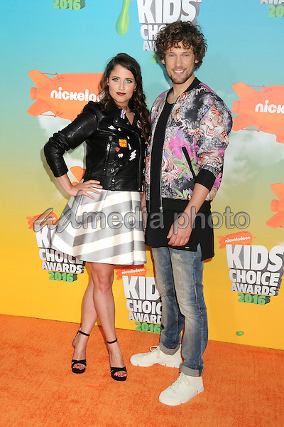 12 March 2016 - Inglewood, California - Iris Hesseling, Bart Boonstra. 2016 Nickelodeon Kids' Choice Awards held at The Forum. Photo Credit: Byron Purvis/AdMedia