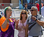A photograph taken during the Mural Marathon on Saturday June 30, 2018 in downtown Reno.
