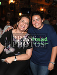 Michelle Breen and Michelle O'Toole at the waterski to the Isle of Man launch night in aid of SOSAD in Odd Mollies. Photo:Colin Bell/pressphotos.ie