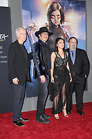 "LOS ANGELES - FEB 5:  James Cameron, Robert Rodriguez, Rose Salazar,  Jon Landau at the ""Alita: Battle Angel"" Premiere at the Village Theater on February 5, 2019 in Westwood, CA"