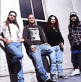 Pantera; Studio Session, In New York City, 1992<br /> Photo Credit: Eddie Malluk/Atlas Icons.com