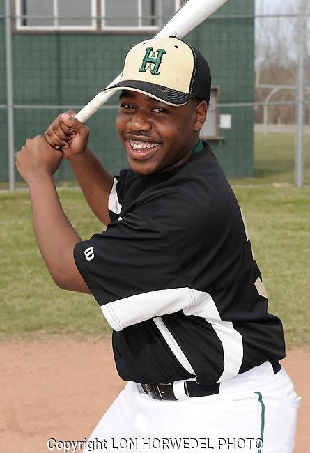 Huron High School junior varsity baseball team.