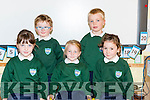 Kilgobnet NS, Beaufort junior infants Amy O'Connor, Rory Kissane, Chloe Coffey, Christopher McNamera and Aoibheann Reid