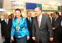 SAO PAULO, SP, 15 DE MARCO 2012 - INAUGURACAO SALA HIBRIDA -  O governador de Sao Paulo Geraldo Alckmin durante inauguracao no Instituto Dante Pazzanese de Cardiologia, a primeira sala híbrida do país construída em um centro cirúrgico, na regiao sul da capital paulista, nesta quinta-feira, 15. (FOTO: THAIS RIBEIRO / BRAZIL PHOTO PRESS).