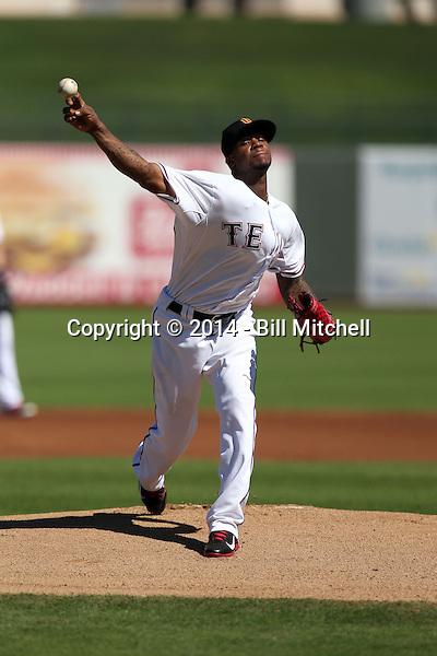 Lisalverto Bonilla - Surprise Saguaros - 2014 Arizona Fall League (Bill Mitchell)