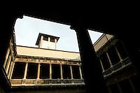 Il cortile di Palazzo Bo, sede dell'Università' di Padova.<br /> The courtyard of Palazzo Bo, headquarters of the University of Padua.<br /> UPDATE IMAGES PRESS/Riccardo De Luca