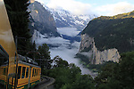 Cog railway leading to the North Face of the Eiger, Lauterbrunnen, Switzerland. .  John offers private photo tours in Denver, Boulder and throughout Colorado, USA.  Year-round. .  John offers private photo tours in Denver, Boulder and throughout Colorado. Year-round.