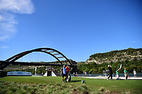Shane Lowry (IRL) watches his tee shot on 13 during round 2 of the World Golf Championships, Dell Technologies Match Play, Austin Country Club, Austin, Texas, USA. 3/23/2017.<br /> Picture: Golffile | Ken Murray<br /> <br /> <br /> All photo usage must carry mandatory copyright credit (&copy; Golffile | Ken Murray)
