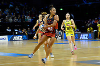 Tactix&rsquo; Erikana Pedersen in action during the ANZ Premiership - Pulse v Tactix at TSB Arena, Wellington, New Zealand on Monday 14 May 2018.<br /> Photo by Masanori Udagawa. <br /> www.photowellington.photoshelter.com