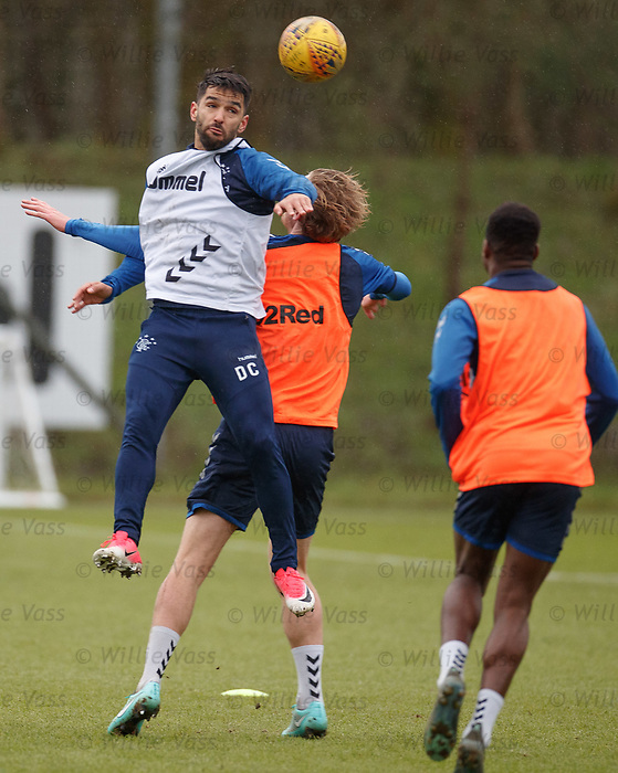 05.02.2019: Rangers training: Daniel Candeias and Joe Worrall