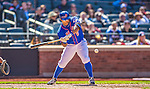 21 April 2013: New York Mets outfielder Marlon Byrd in action against the Washington Nationals at Citi Field in Flushing, NY. The Mets shut out the visiting Nationals 2-0, taking the rubber match of their 3-game weekend series. Mandatory Credit: Ed Wolfstein Photo *** RAW (NEF) Image File Available ***