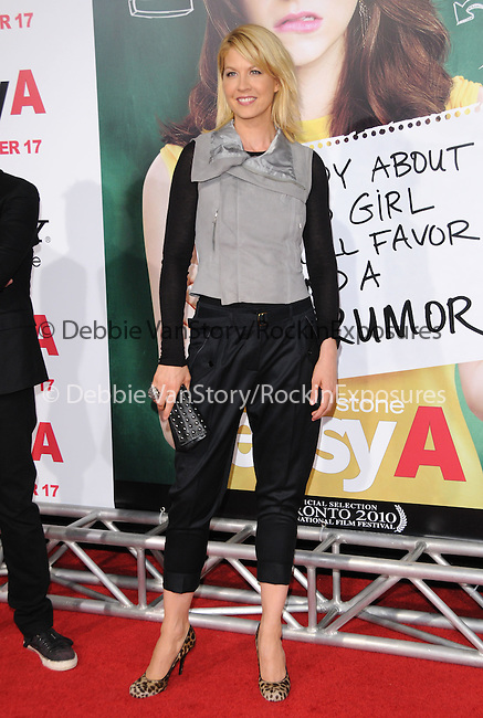 """Jenna Elfman at the Screen Gems' L.A. Premiere of """"Easy A"""" held at The Grauman's Chinese Theatre in Hollywood, California on September 13,2010                                                                               © 2010 Hollywood Press Agency"""