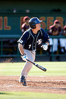 Chris Engell -  2009 San Diego Toreros playing against the Arizona State Sun Devils at Packard Stadium, Tempe, AZ - 05/05/2009 .Photo by:  Bill Mitchell/Four Seam Images