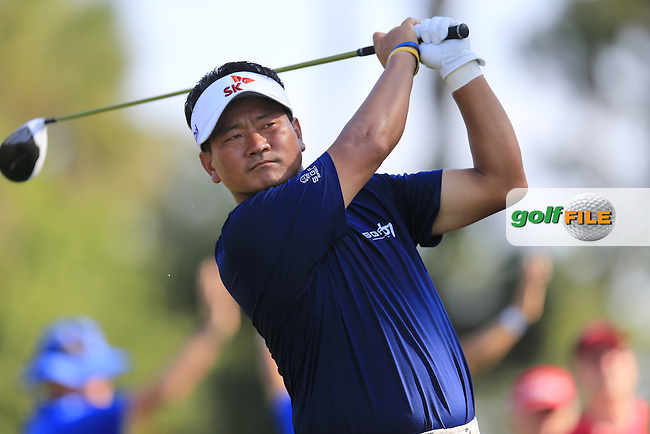 KJ Choi (KOR) during round 1of the Players, TPC Sawgrass, Championship Way, Ponte Vedra Beach, FL 32082, USA. 12/05/2016.<br /> Picture: Golffile   Fran Caffrey<br /> <br /> <br /> All photo usage must carry mandatory copyright credit (&copy; Golffile   Fran Caffrey)