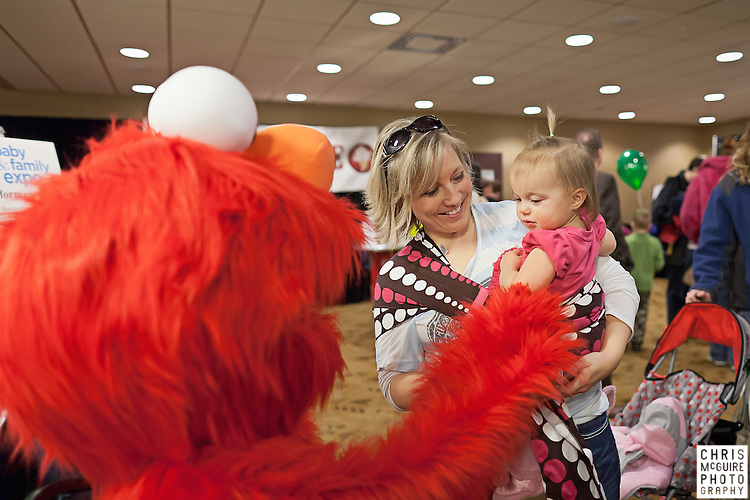02/12/12 - Kalamazoo, MI: Kalamazoo Baby & Family Expo.  Photo by Chris McGuire.  R#19
