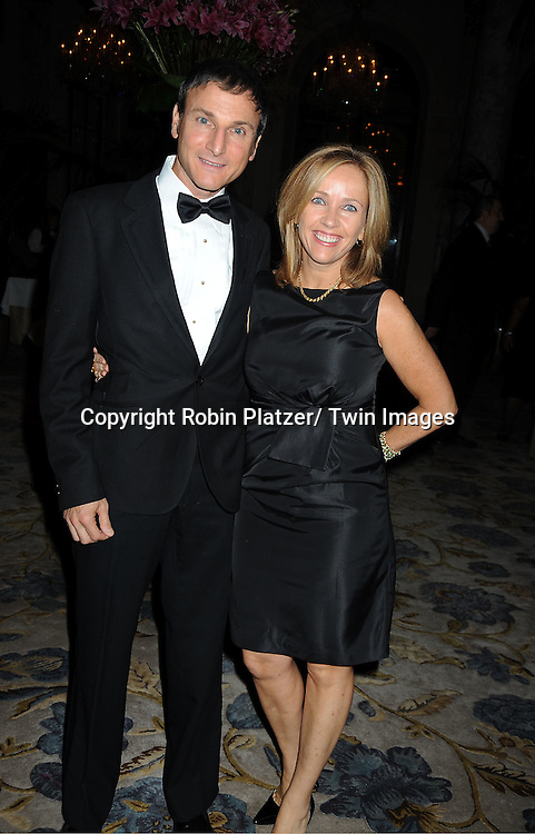 Michael Gelman and Laurie Gelman attend The 2011 Living Landmarks Celebration presented by The New York Landmarks Conservancy on ..November 2, 2011 at The Plaza Hotel in New York City.  ..The honorees are Lewis B Cullman, Louise Kerz Hirschfeld, Angelia Lansbury, Danny Meyer and Regis Philbin.