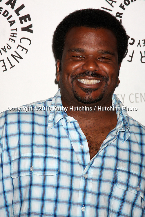 "LOS ANGELES - SEP 23:  Craig Robinson arrives at ""The Cleveland Show"" DVD Release Party & Panel DIscussion  at Paley Center for Media on September 23, 2010 in Beverly Hills, CA"