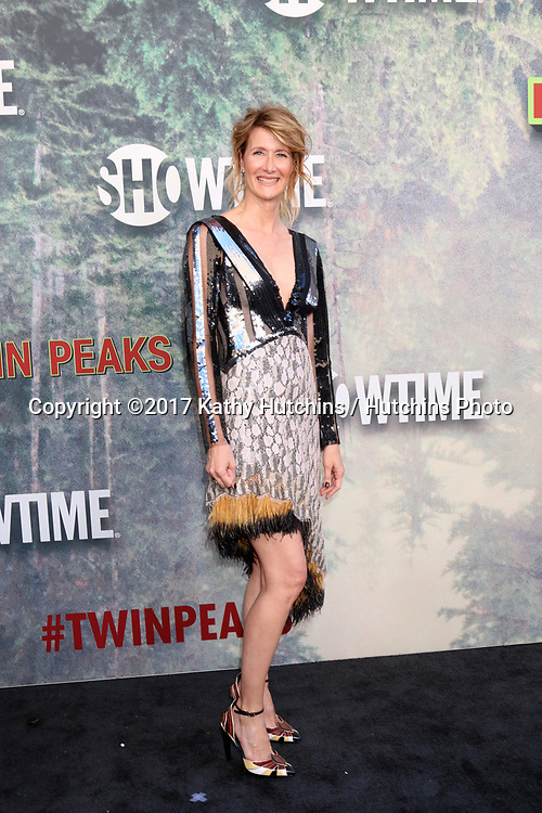 """LOS ANGELES - MAY 19:  Laura Dern at the """"Twin Peaks"""" Premiere Screening at The Theater at Ace Hotel on May 19, 2017 in Los Angeles, CA"""