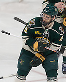 Nick Bruneteau (UVM - 4) - The Boston College Eagles defeated the visiting University of Vermont Catamounts to sweep their quarterfinal matchup on Saturday, March 16, 2013, at Kelley Rink in Conte Forum in Chestnut Hill, Massachusetts.